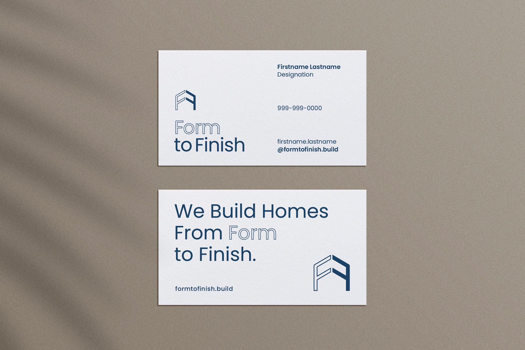 FormToFinish_BusinessCard